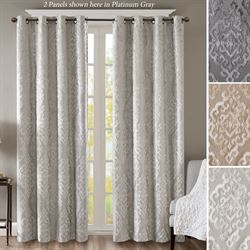 Mirage Blackout Grommet Curtain Panel