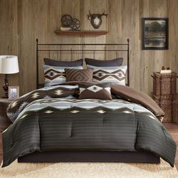Bitter Creek Comforter Bed Set Multi Warm
