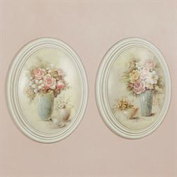 Antonia Wall Plaques Multi Pastel Set of Two