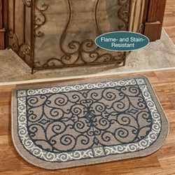 Eastly Hearth Rug Light Taupe 35 x 22