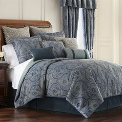 Preston Comforter Set Federal Blue