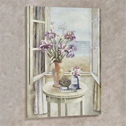 Seaside Escape Canvas Wall Art Multi Pastel