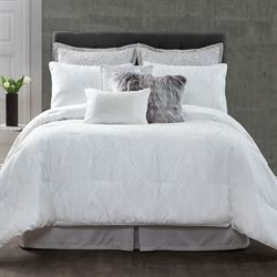 Santa Monica Comforter Set White