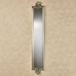 Alistair Wall Mirror Panel Antique Silver