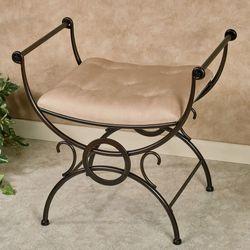 Savion Vanity Bench Bronze