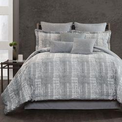Textura Comforter Set Slate Gray