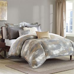 Graphix Comforter Bed Set Dark Gray