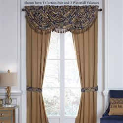 Cordero Tailored Curtain Pair Antique Gold 82 x 84