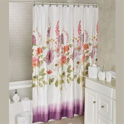 Keila Rose Shower Curtain Multi Bright 70 x 72