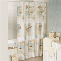 Bayside Shower Curtain Light Almond