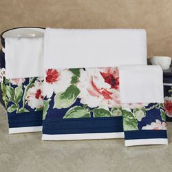 Nara Bath Towel Set Off White Bath Hand Fingertip