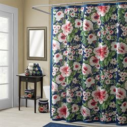 Nara Shower Curtain Indigo 72 x 72