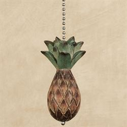 Pineapple Ceiling Fan Pull Brown