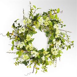 Bella Blossom Floral Wreath Multi Cool