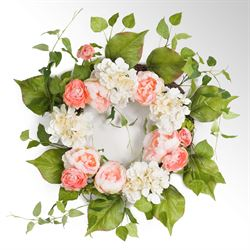 Lyla Floral Wreath Multi Pastel