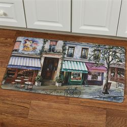 Village Square Cushioned Floor Mat Multi Cool 30 x 18