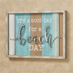 Good Beach Day Wall Plaque Multi Cool