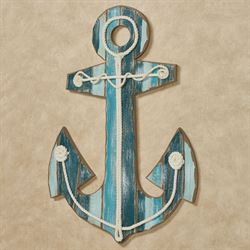Anchor Wall Plaque Sign Multi Cool