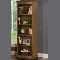 Breckenridge Bookcase Honey Maple