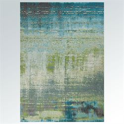 Misty Waters Rectangle Rug Multi Cool