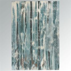 Blue Falls Rectangle Rug