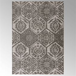 Sumaira Rectangle Rug Charcoal