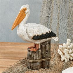 Pelican Table Sculpture Multi Earth