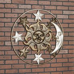 Celestial Wall Art Multi Metallic