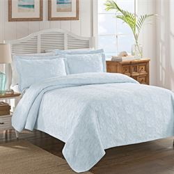 Sanibel Isle Coverlet Pastel Blue