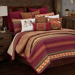 Solace Mini Quilt Set Multi Warm