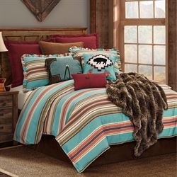 Serape Duvet Cover Set Multi Bright