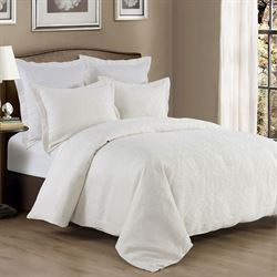 Divinity Mini Coverlet Set Pearl