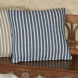 Bengal Stripe Decorative Pillow 20 Square