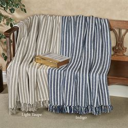 Bengal Stripe Throw Blanket 50 x 60
