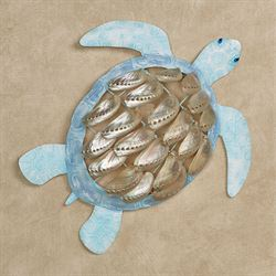 Brisbane Sea Turtle Wall Art Multi Cool