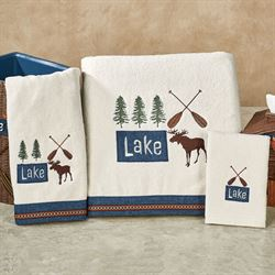 Lakeville Bath Towel Set Light Cream Bath Hand Fingertip