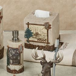 Nature Walk Lotion Soap Dispenser Multi Warm