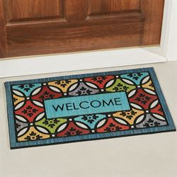 Clementine Shades Doormat Multi Bright 30 x 18