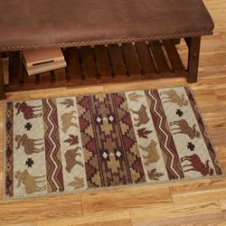 Light Woods Rectangle Accent Rug Honey 24 x 310
