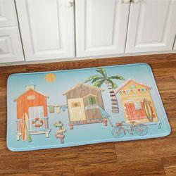 Cabana Cushioned Rectangle Mat Multi Bright 35 x 22