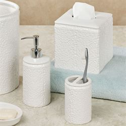 Foglia Lotion Soap Dispenser Off White