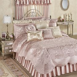 Prima Coverlet Set Rose Quartz