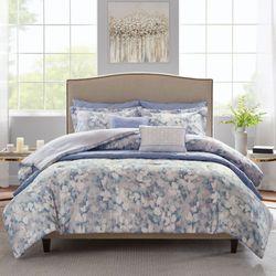 Erica Comforter Bed Set Gray
