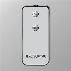Candle Remote Control Only Silver