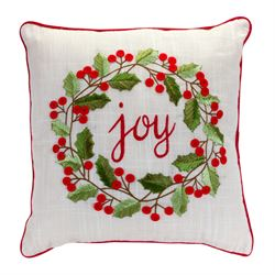 Joy Decorative Pillow Red