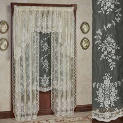 Fiona II Lace Curtain Panel