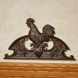 Le Chanticleer Rooster Door Topper Brandywine