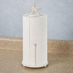 Starfish Paper Towel Holder Antique White