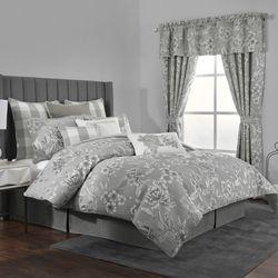 Julianne Comforter Set Gray