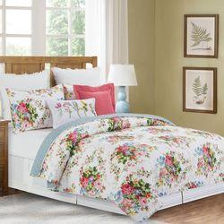 Cottage Rose Blooms Mini Quilt Set Multi Bright